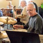 Tommy Davis on drums
